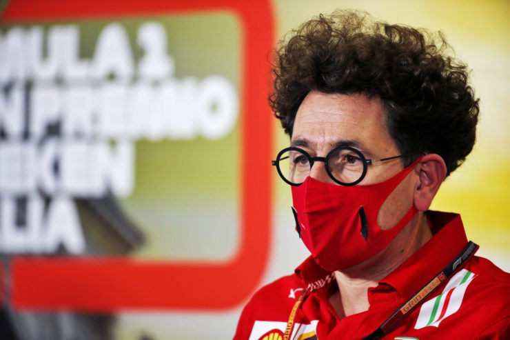 Ferrari team principle comments on his feud with Toto Wolff