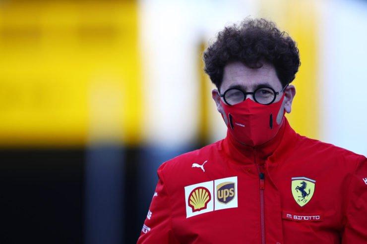 Ferrari Boss at the Eifel Grand Prix