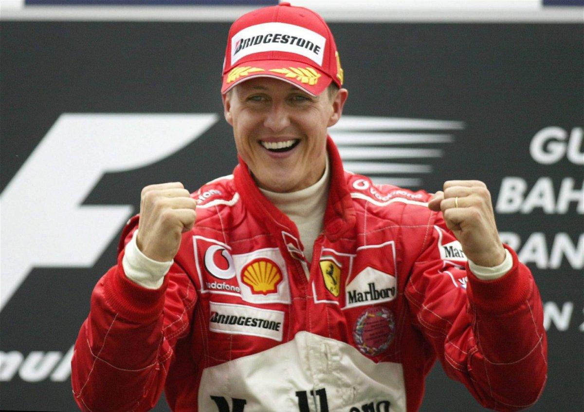 Michael Schumacher in Bahrain in 2004