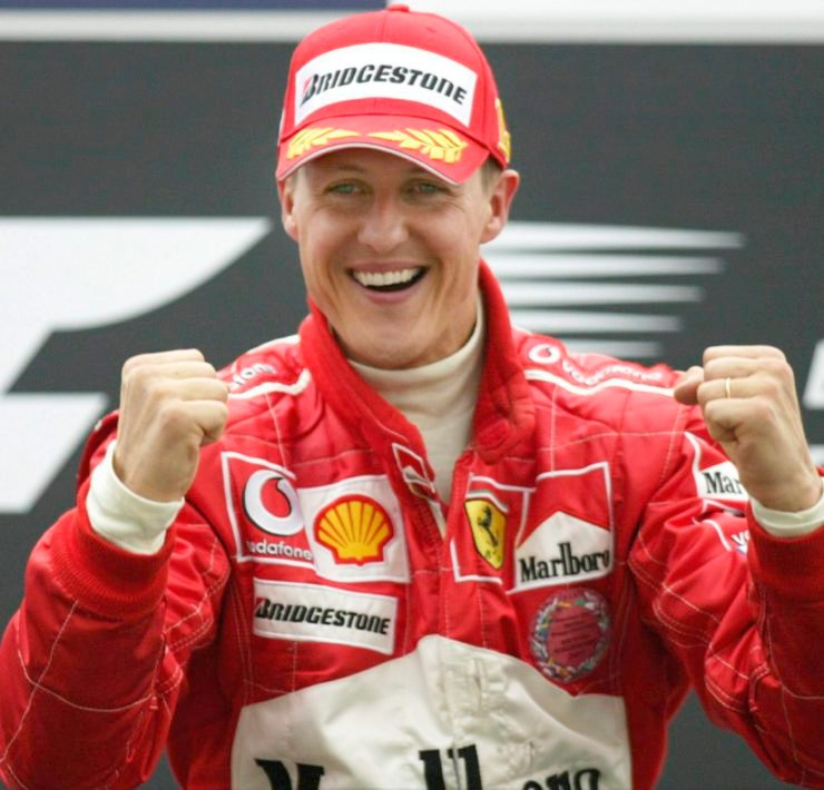 Michael Schumacher at Bahrain in 2004