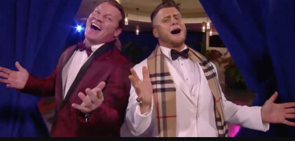 Chris Jericho and MJF's Musical Performance Goes Viral on Twitter