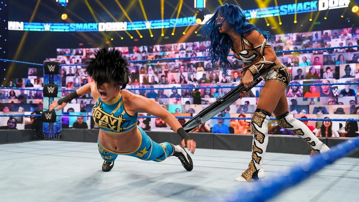 WWE Hell In A Cell 2020: Winner Revealed Of Sasha Banks Vs Bayley 80
