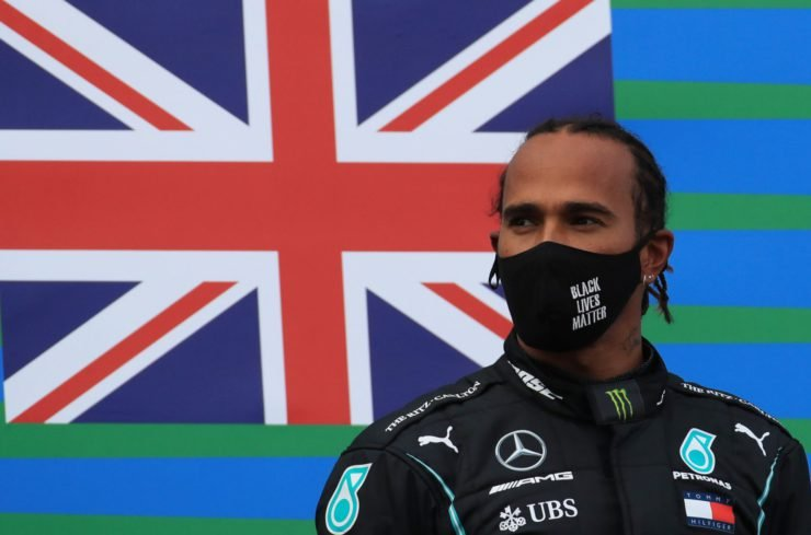 Mercedes' Lewis Hamilton not worried about Nico Rosberg's team in Extreme E series