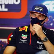 Red Bull driver Max Verstappen at the Portuguese GP press conference