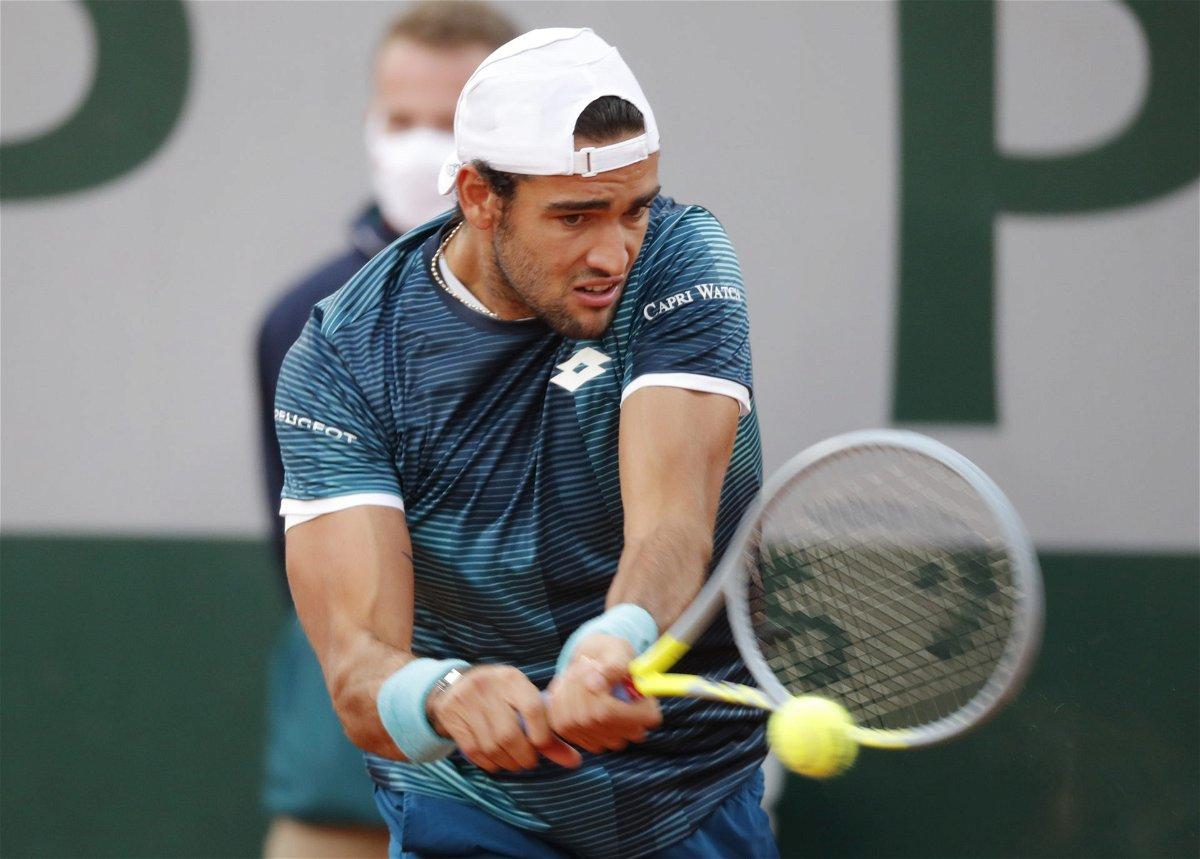 Matteo Berrettini Seeks A Chance For ATP Finals 2020