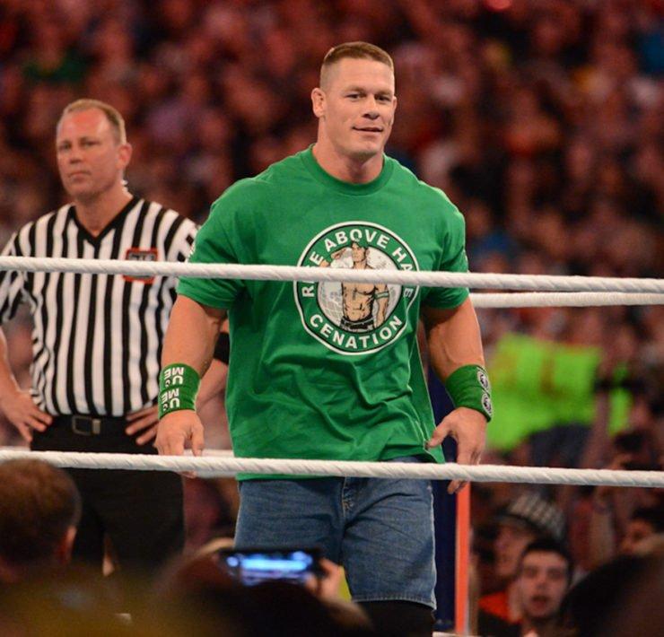 John Cena at WrestleMania XVIII