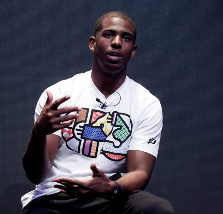 Oklahoma City Thunder star point guard Chris Paul