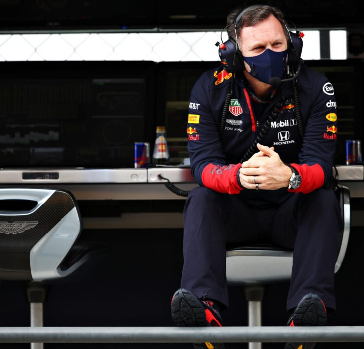 Christian Horner defends Red Bull Racing's Max Verstappen on the radio message during FP2 at Portuguese Grand Prix 2020