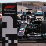 Lewis Hamilton secures pole position at the Portuguese GP