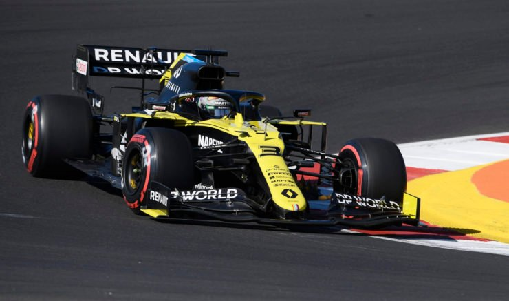 Renault's Daniel Ricciardo crashes out of qualifying at Portuguese Grand Prix 2020