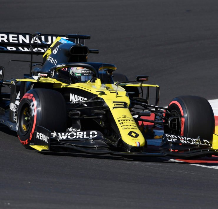 Renault's Daniel Ricciardo crashes out of qualifying at Portuguese Grand Prix 2020