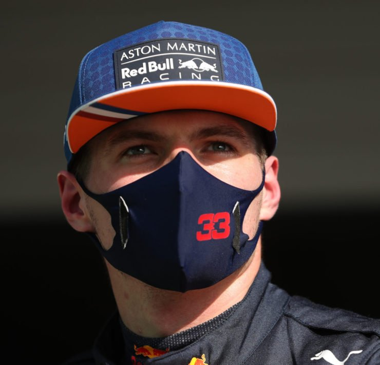 Max Verstappen in Portimao ahead of the Portuguese Grand Prix