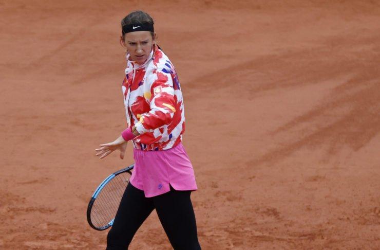 Victoria Azarenka at French Open 2020