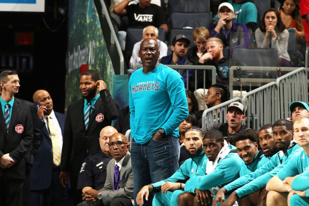 Michael Jordan, Owner of Charlotte Hornets LaMelo Ball