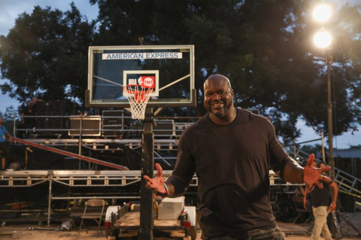 NBA legend Shaquille O'Neal