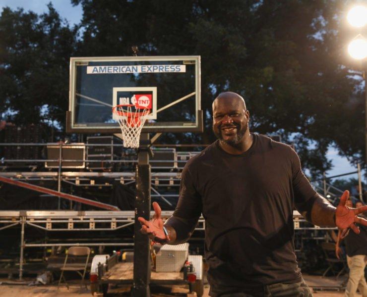 NBA legend Shaquille O'Neal