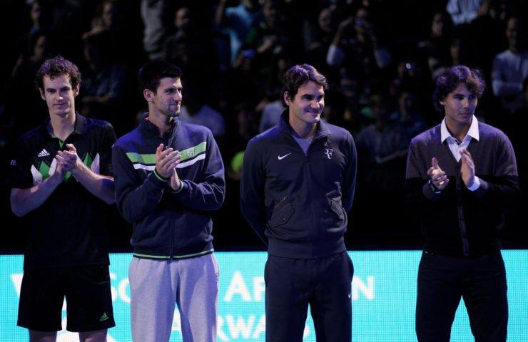 大4  - 穆雷,费德勒,纳达尔,德约科维奇在ATP世界巡回赛总决赛