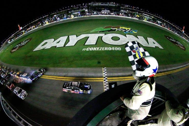 The Daytona International Speedway