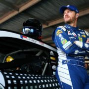 Dale Earnhardt Jr during practice for the Monster Energy NASCAR Cup Series Toyota Owners 400 at Richmond International Raceway