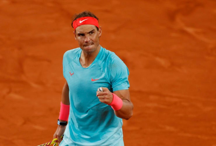 Rafael Nadal at French Open 2020