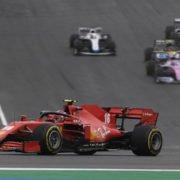 Ferrari driver Charles Leclerc during the Portuguese GP race