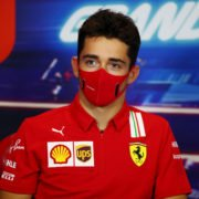 Charles Leclerc hilariously asks Lando Norris to shut up about Ferrari's performance.