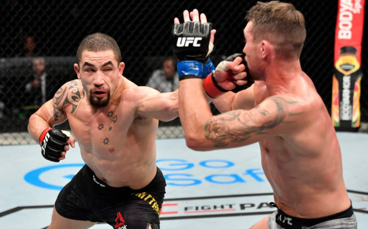 UFC Robert Whittaker vs Darren Till