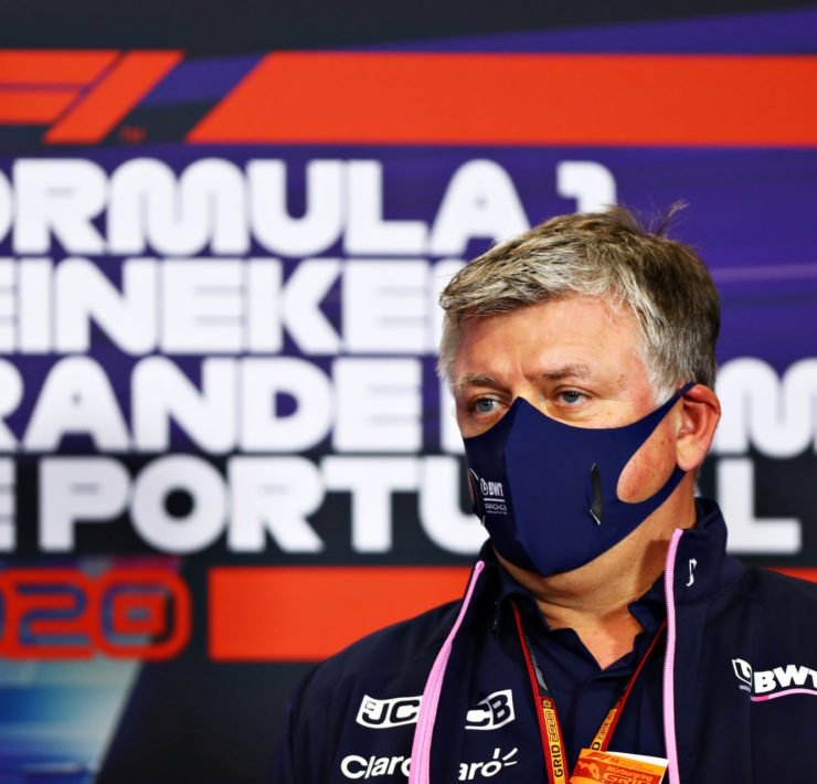Racing Point Team Principal Otmar Szafnauer hits out at Stewards for handing Sergio Perez two reprimands at the Potruguese Grand Prix 2020