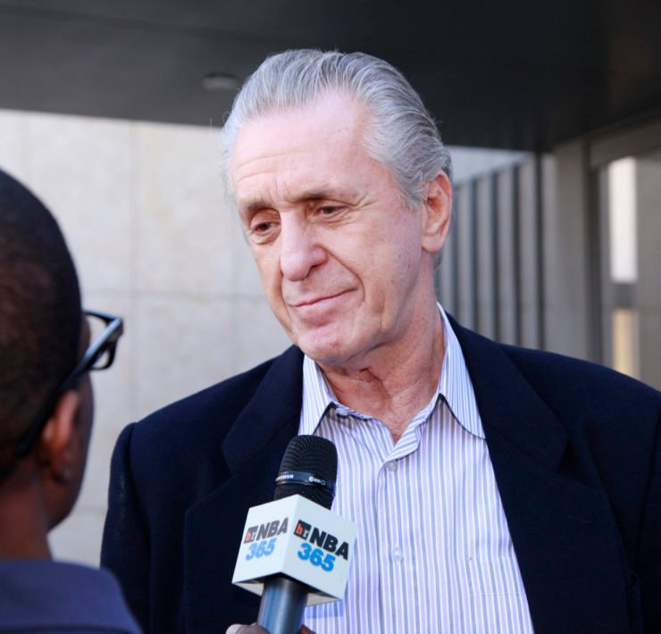 Miami Heat president Pat Riley