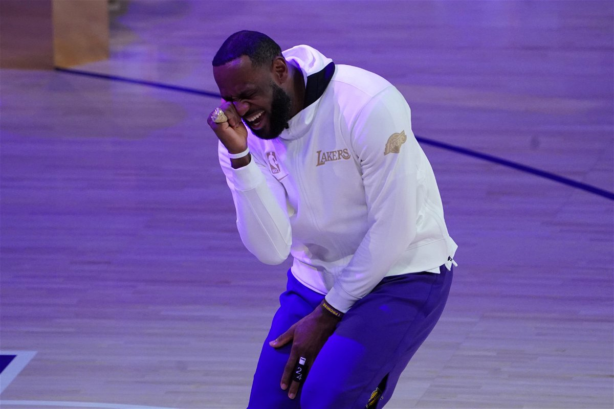 Lebron James Posts A Special Tribute For Kobe Bryant After Recieving His Lakers Ring Essentiallysports