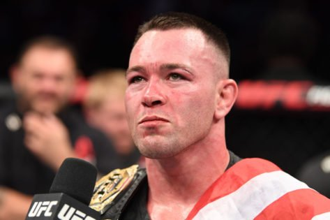 """""""Because of Who I Supported as the President""""- Colby Covington Explains Why UFC Fans Turned Against Him"""