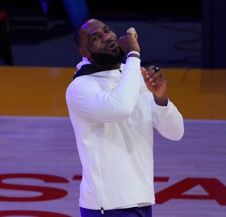 Lakers' LeBron James