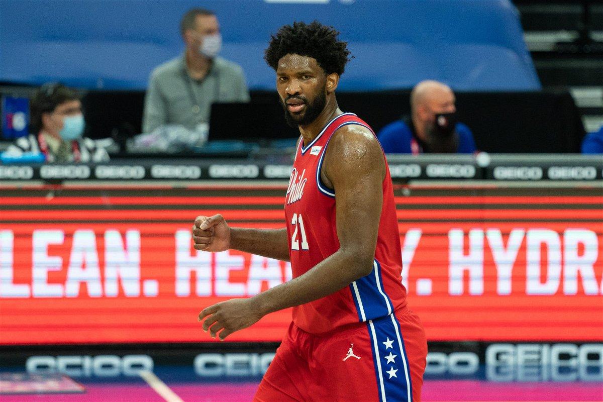 Philadelphia 76ers' superstar Joel Embiid