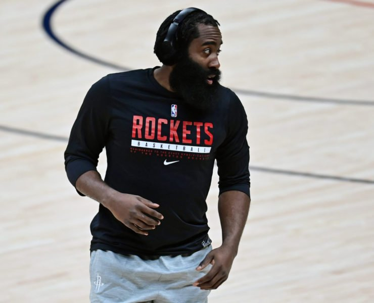 Houston Rockets' James Harden