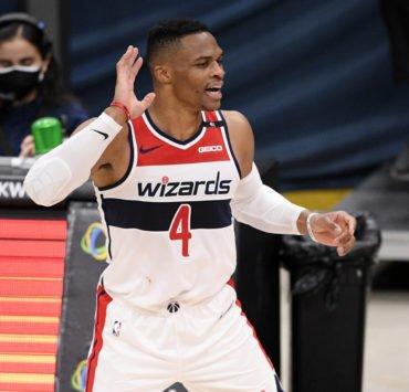 Washington Wizards' Russell Westbrook