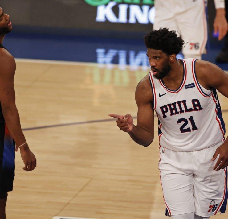 Philadelphia 76ers superstar Joel Embiid