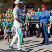 Mercedes' Lewis Hamilton is in a contract standoff