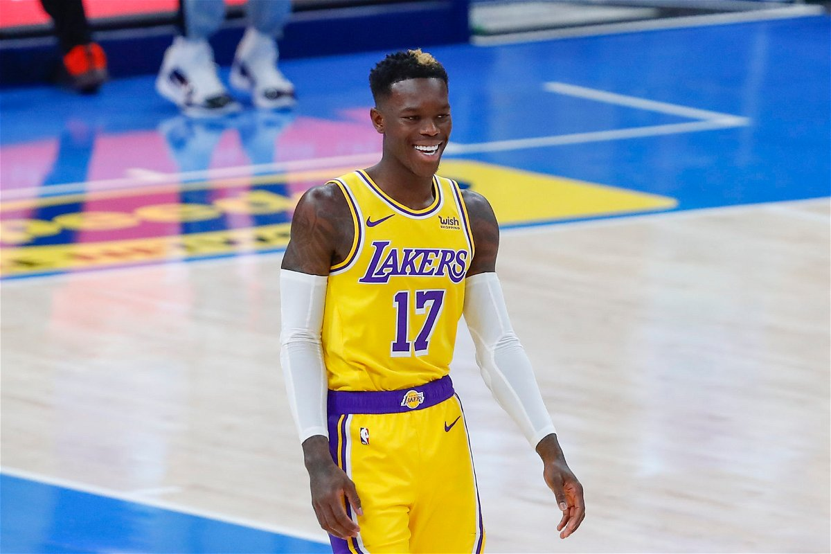 Lakers' Dennis Schroder Drops Hint About Signing a Contract ...