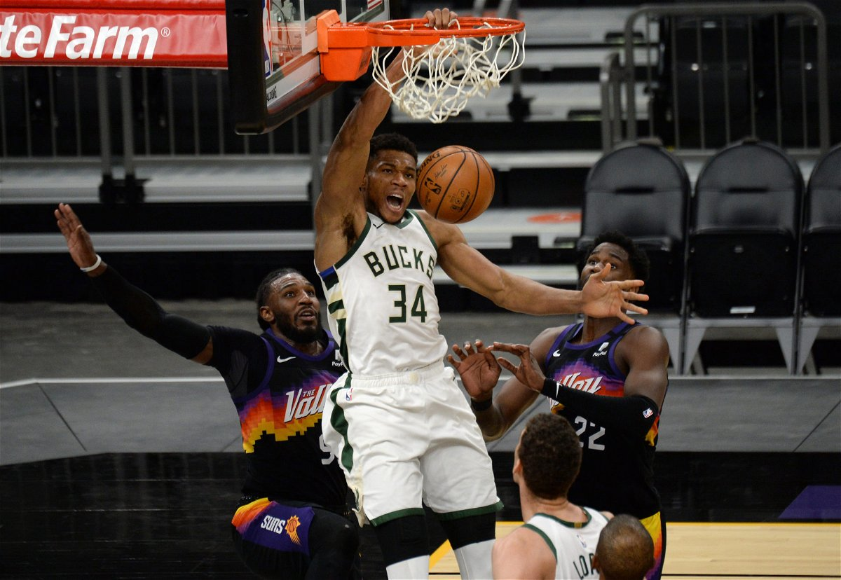 Giannis Antetokounmpo Joins Moses Malone Karl Malone With This Incredible Record Essentiallysports