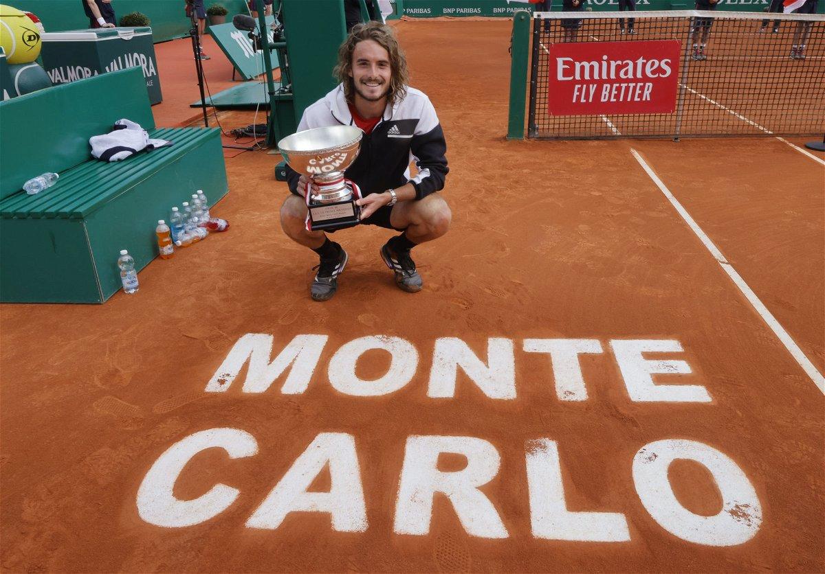 Stefanost Tsitsipas- Monte Carlo Masters 2021