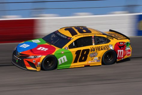 Kyle Busch Languishes in Ninth After Copping Two Penalties at Richmond