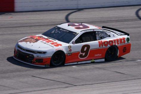 "Chase Elliott Reflects on ""Super Close"" Finish at Las Vegas Motor Speedway"