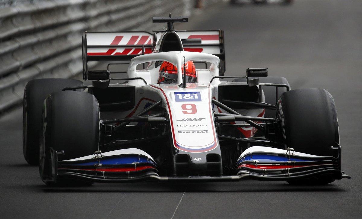 Nikita Mazepin at the Monaco Grand Prix