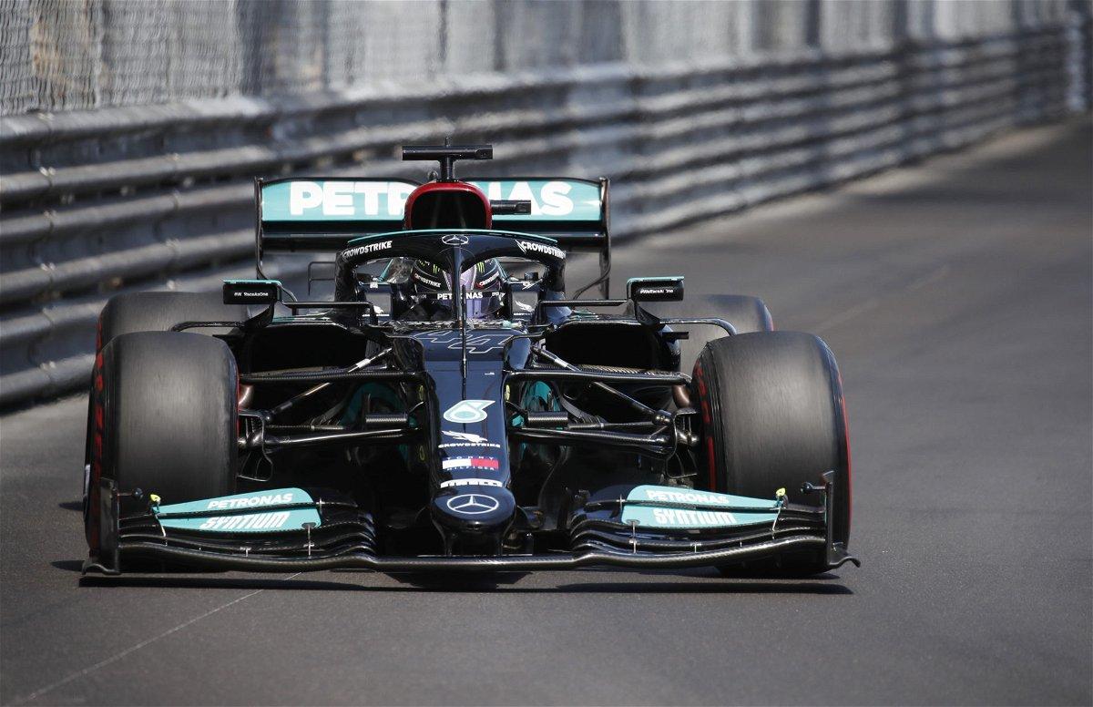 Lewis Hamilton at the Monaco GP