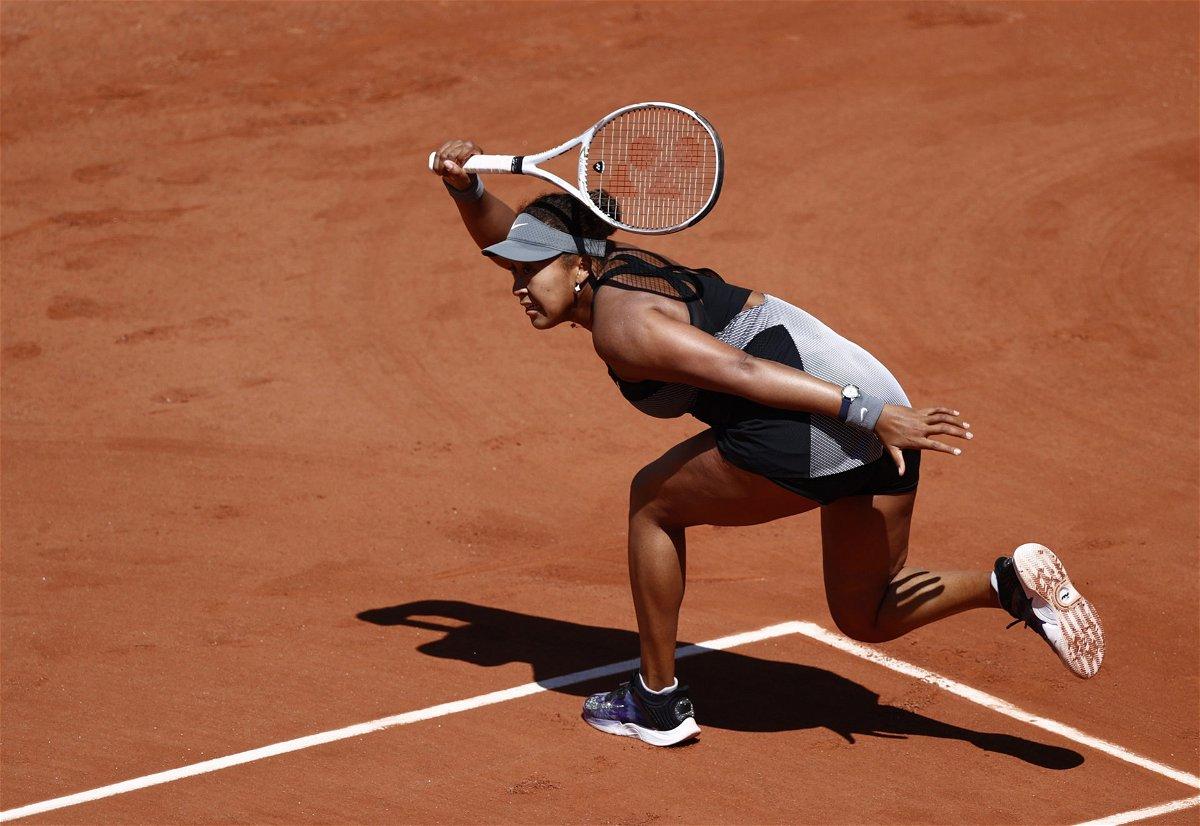 Naomi Osaka at the French Open 2021