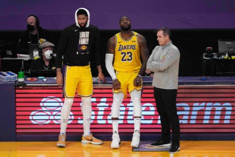 Lakers Coach Frank Vogel Spills the Beans on Their Big Three's 2021-22 Role