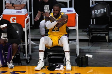 LeBron James Expresses His Frustration Over Former Lakers Veteran's Move to Mavericks