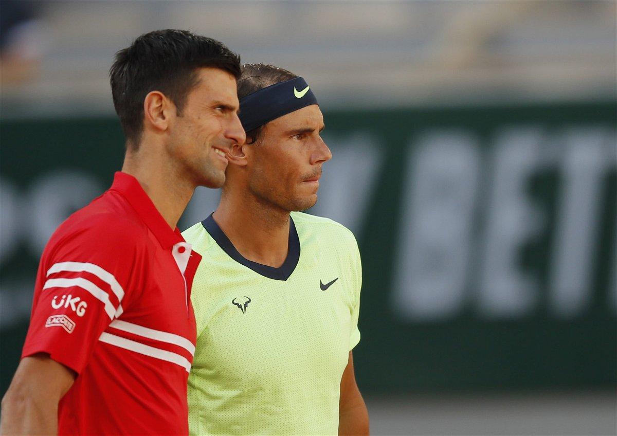 Rafael Nadal-Novak Djokovic