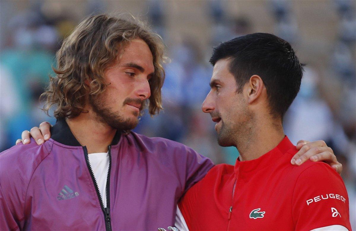 "Stefanos Tsitsipas' Team Reveals Taking Inspiration From Novak Djokovic for His Frequent ""Bathroom Breaks"" - EssentiallySports"