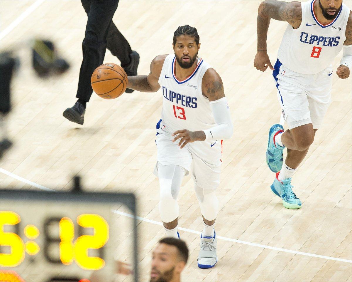 LA Clippers guard Paul George